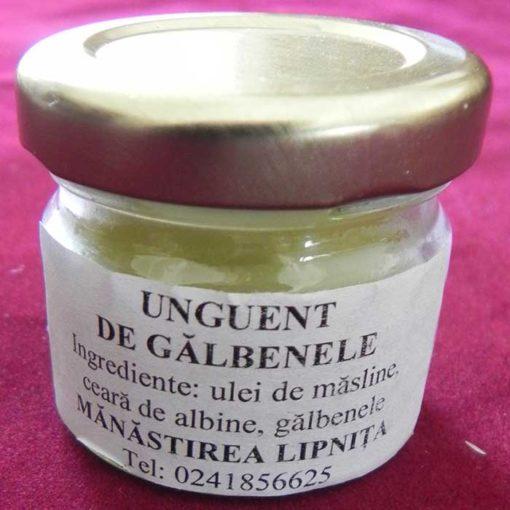 Crema de galbenele cu ulei de masline