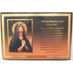 Binecuvantarea casei si a familiei cu icoana Maicii Domnului Tanguirea – 15 x 10 cm