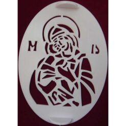 Forma pentru coliva cu Maica Domnului