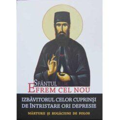 Sf. Efrem cel Nou – Izbavitorul celor cuprinsi de intristare ori depresie