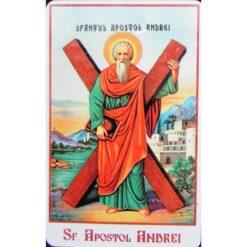 Magnet cu Sf. Apostol Andrei – 4 x 6 cm