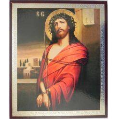 Icoana Hristos cu coroana de spini – 20 x 24 cm