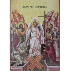 Icoana cu Invierea Domnului – 20 x 30 cm