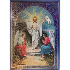 Icoana cu Invierea Domnului – 30 x 40 cm