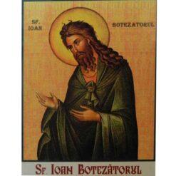 Magnet cu Sf. Ioan Botezatorul – 4 x 6 cm