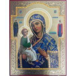 Icoana cu Maica Domnului Ierusalimitisia – 30 x 40 cm