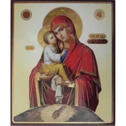 Icoana Maica Domnului de la Poceaev (cu talpa Maicii Domnului) – 20 x 24 cm