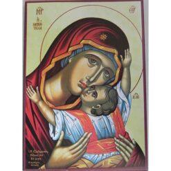 Icoana Maica Domnului Dulcea sarutare – 20 x 30 cm