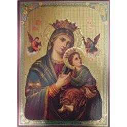 Icoana cu Maica Domnului Patimitoarea- 30 x 40 cm