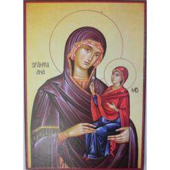 Icoana cu Sf. Ana si Maica Domnului 20 x 30 cm