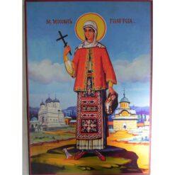 Icoana cu Sf. Filofteia – 20 x 30 cm