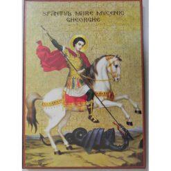 Icoana cu Sf. Gheorghe – 20 x 30 cm