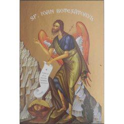 Icoana cu Sf. Ioan Botezatorul – 30 x 45 cm