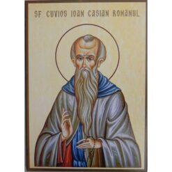 Icoana cu Sf. Ioan Casian – 20 x 30 cm