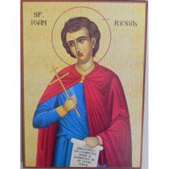 Icoana cu Sf. Ioan Rusul – 20 x 30 cm