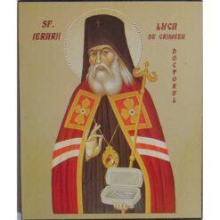 Icoana cu Sf. Luca de Crimeea, doctorul – 15 x 18 cm