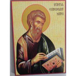 Icoana cu Sf. Evanghelist Matei- 20 x 30 cm