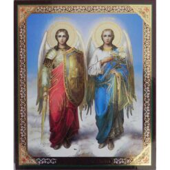 Icoana cu Sfintii Arhangheli Mihail si Gavriil – 20 x 24 cm