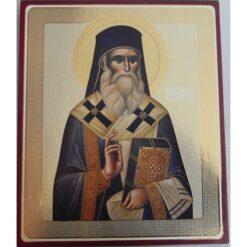 Icoana cu Sf. Nectarie – 20 x 24 cm