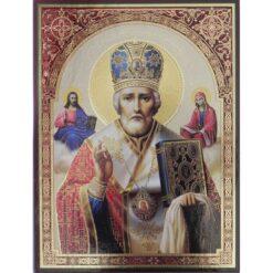 Icoana cu Sfantul Nicolae – 30 x 40 cm