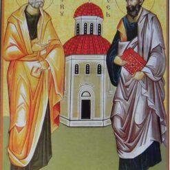 Icoana cu Sfintii Apostoli Petru si Pavel – 20 x 30 cm