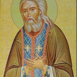Icoana cu Sf. Serafim de Sarov – 20 x 30 cm
