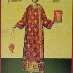 Icoana cu Sf. Stefan – 20 x 30 cm