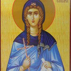 Icoana cu Sf. Tatiana – 20 x 30 cm