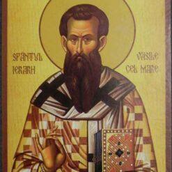 Icoana cu Sf. Vasile cel Mare – 20 x 30 cm