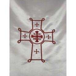 Dvera brodata cu cruce bizantina
