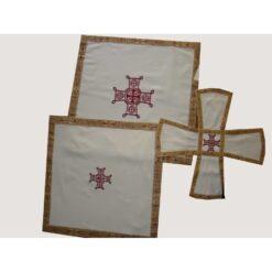 Acoperaminte pentru Sfinte Vase brodate cu o cruce – diferite culori