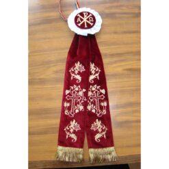 Ornamente brodate pentru icoane si lumanari, dicheri si tricheri